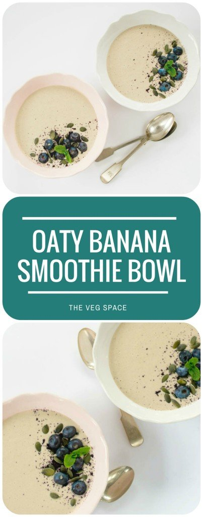 Oaty Banana Smoothie Bowl