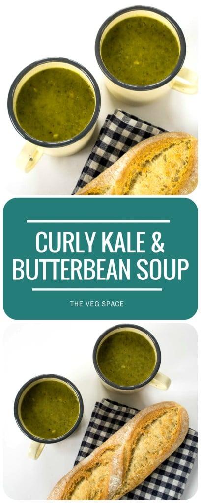Curly Kale & Butterbean Soup