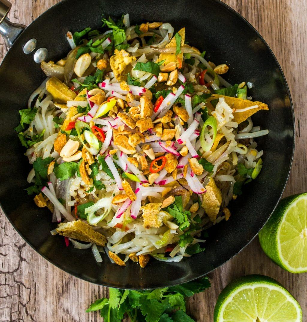 Ultimate Vegan Pad Thai