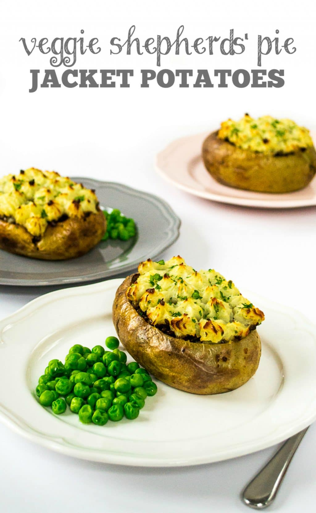 Veggie Shepherds' Pie Jacket Potatoes