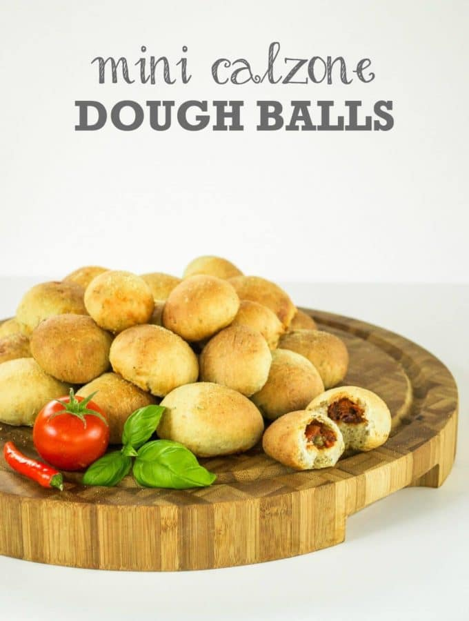 Mini Calzone Dough Balls