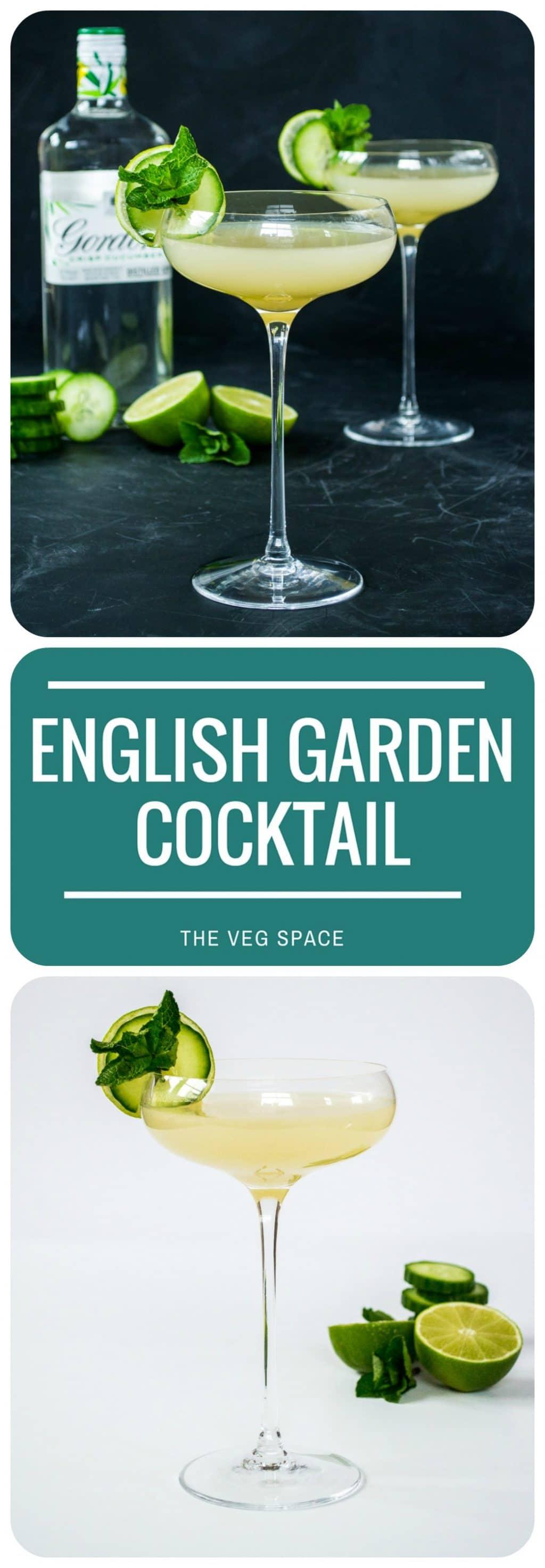 English Garden Gin Cocktail