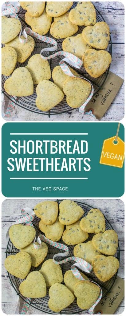 Valentine Shortbread Sweethearts (Vegan)