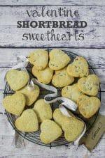 Recipe: Valentine Shortbread Sweethearts (Vegan)