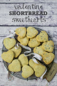 Valentine Shortbread Sweethearts Vegan