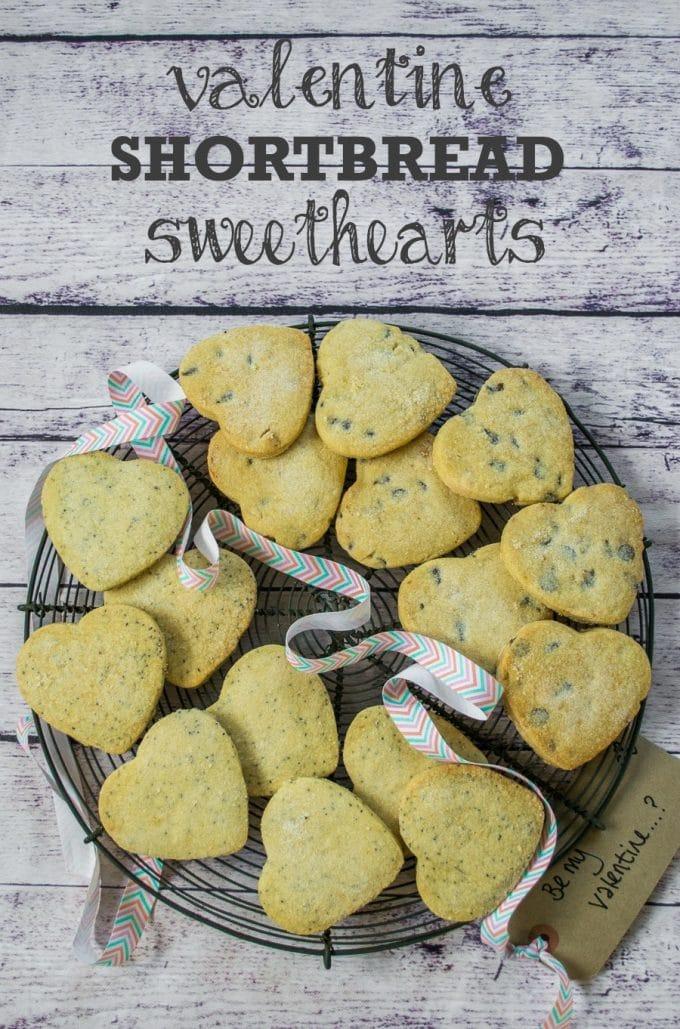 Valentine Shortbread Sweethearts Vegan