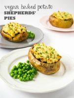 Recipe: Vegan Baked Potato Shepherds' Pies