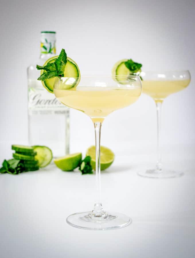 Gin Garden Cocktail