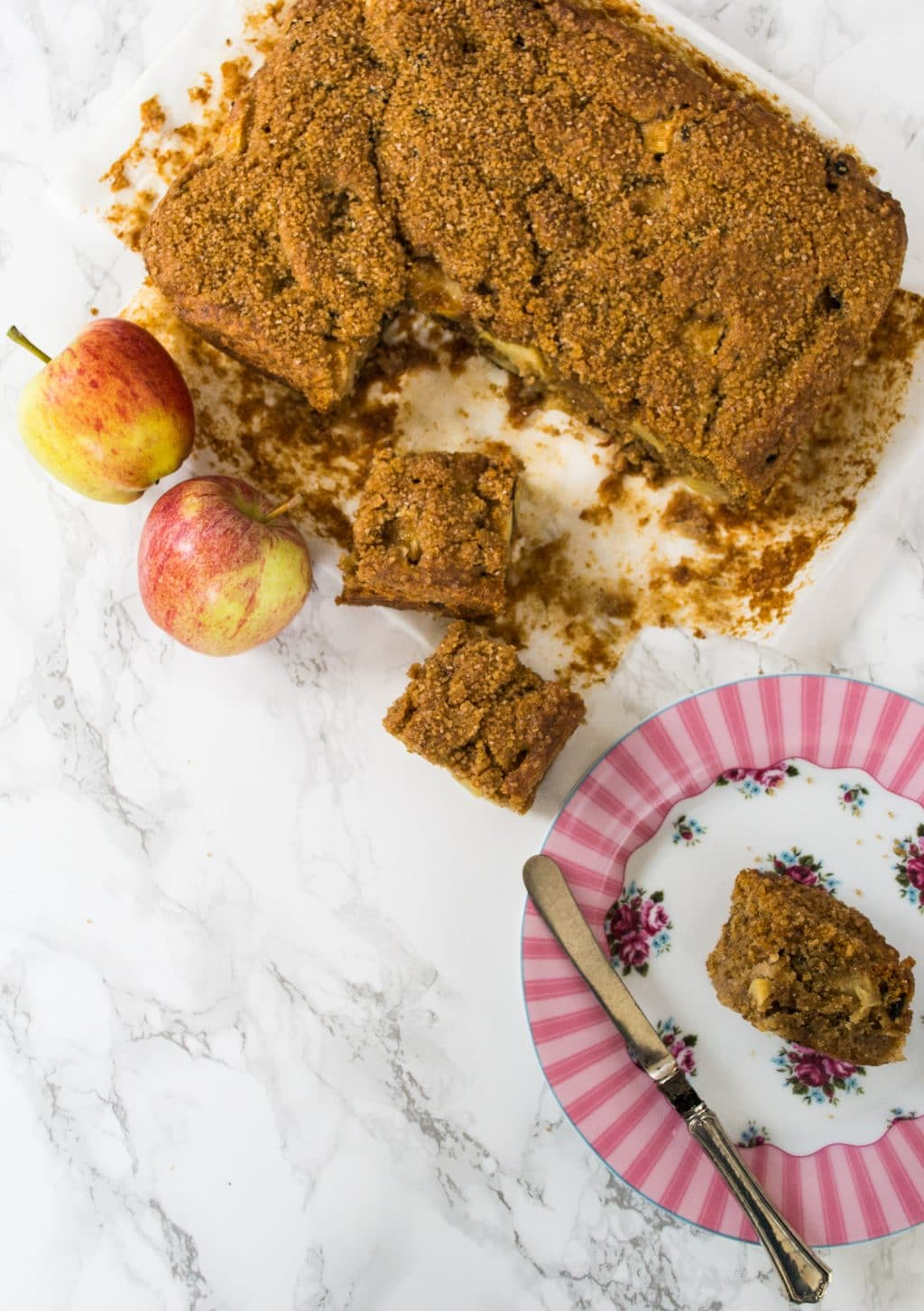 Oaty Vegan Apple Cake