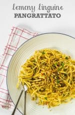 Recipe: Lemony Linguine Pangrattato