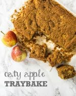 Recipe: Oaty Vegan Apple Cake
