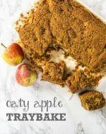 Recipe: Oaty Vegan Apple Cake