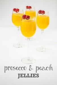 Prosecco & Peach Jellies