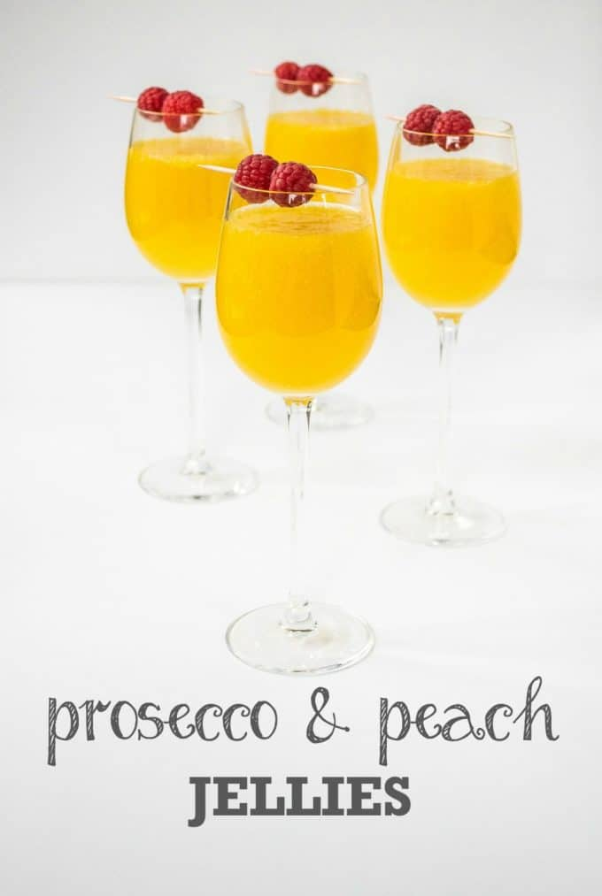 Prosecco & Peach Jellies
