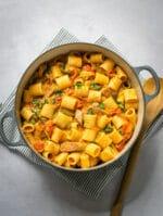 Recipe: Veggie Sausage & Sun Dried Tomato One Pot Pasta