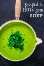 Recipe: Peapod & Little Gem Soup