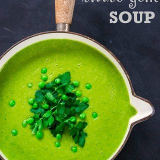Peapod & Little Gem Soup