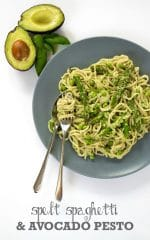 Recipe: Spelt Spaghetti with Avocado Pesto