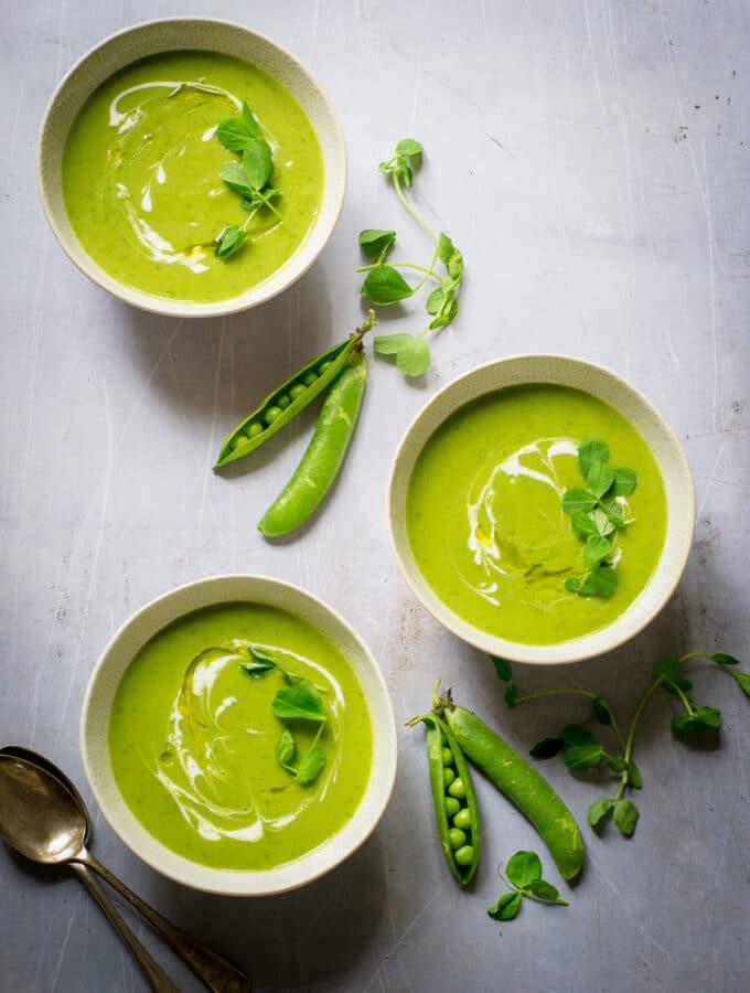 Peapod Soup