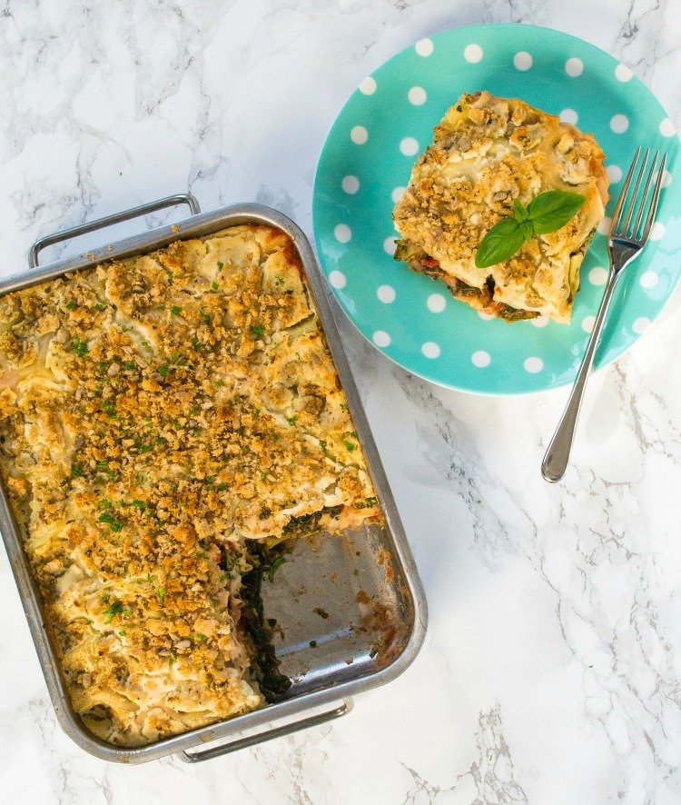 Ultimate Lazy Veggie Lasagne