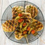 Olive BBQ Flatbreads