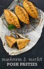 Recipe: Mushroom & Merlot Vegan Pasties