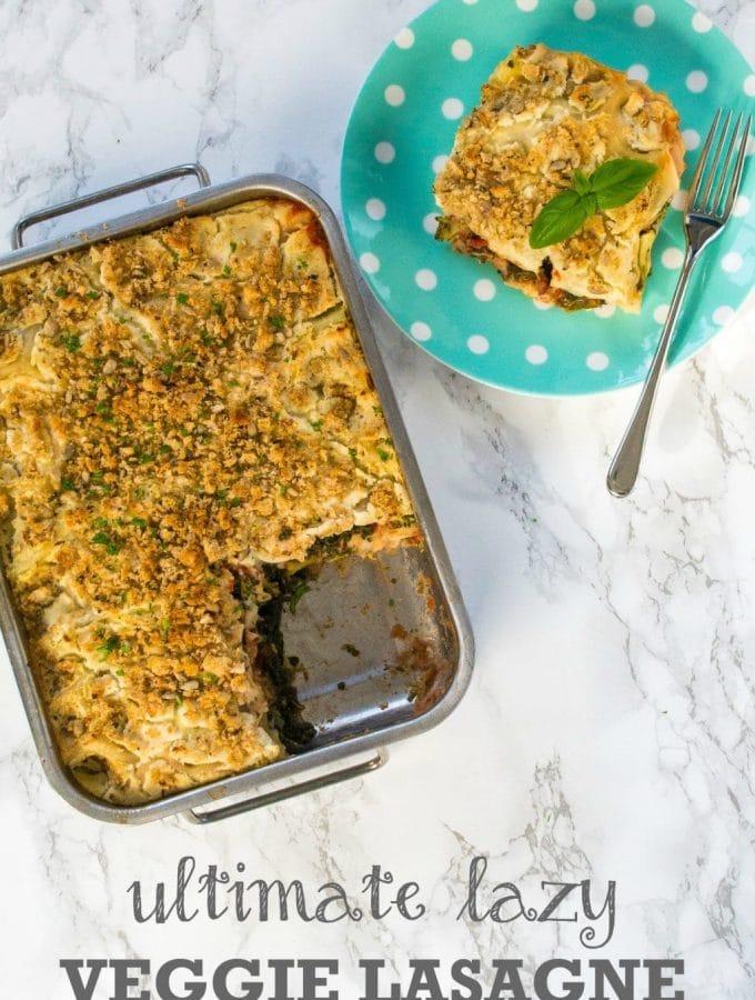 Ultimate Lazy Veggie Lasagne