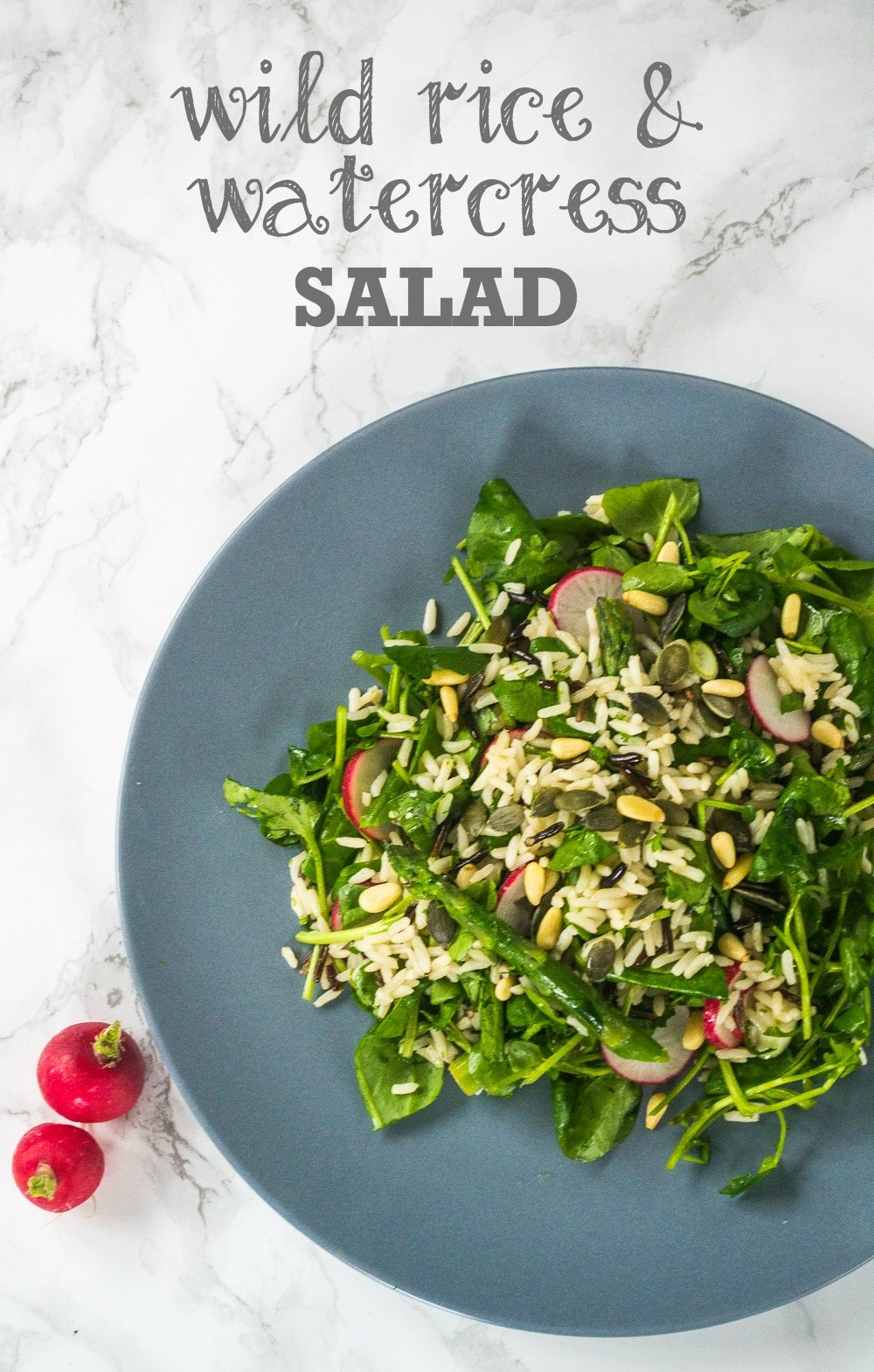 Wild Rice & Watercress Salad