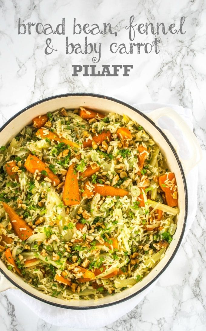 Broad Bean & Fennel Pilaff