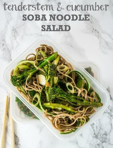 Recipe: Tenderstem & Cucumber Soba Noodle Salad