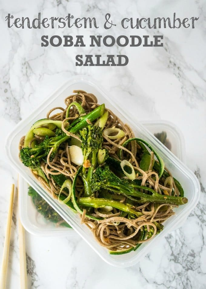 Tenderstem & Cucumber Soba Noodle Salad