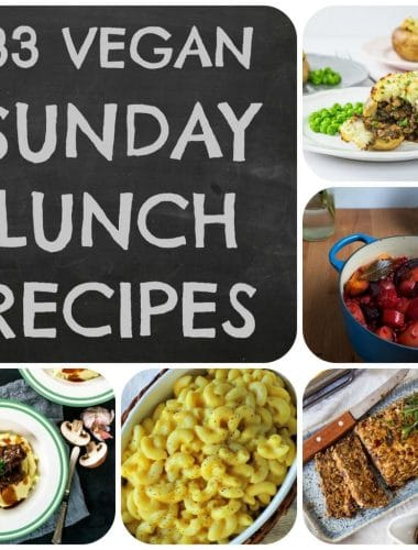 Vegan Sunday Lunch Ideas