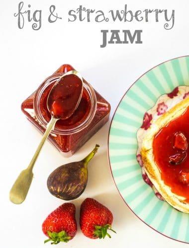 Recipe: Fig & Strawberry Jam