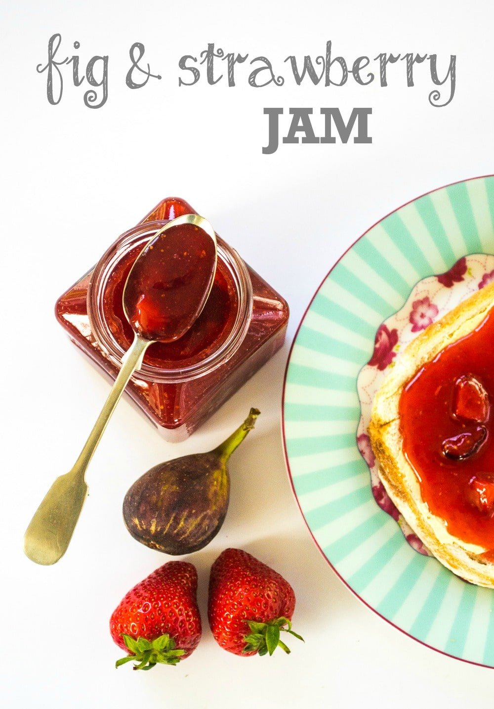 Fig & Strawberry Jam