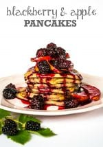 Recipe: Blackberry & Apple Pancakes (Vegan)