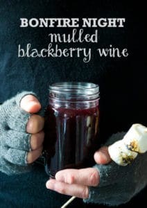 Mulled Blackberry Wine