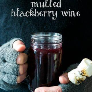 Mulled Blackberry Wine