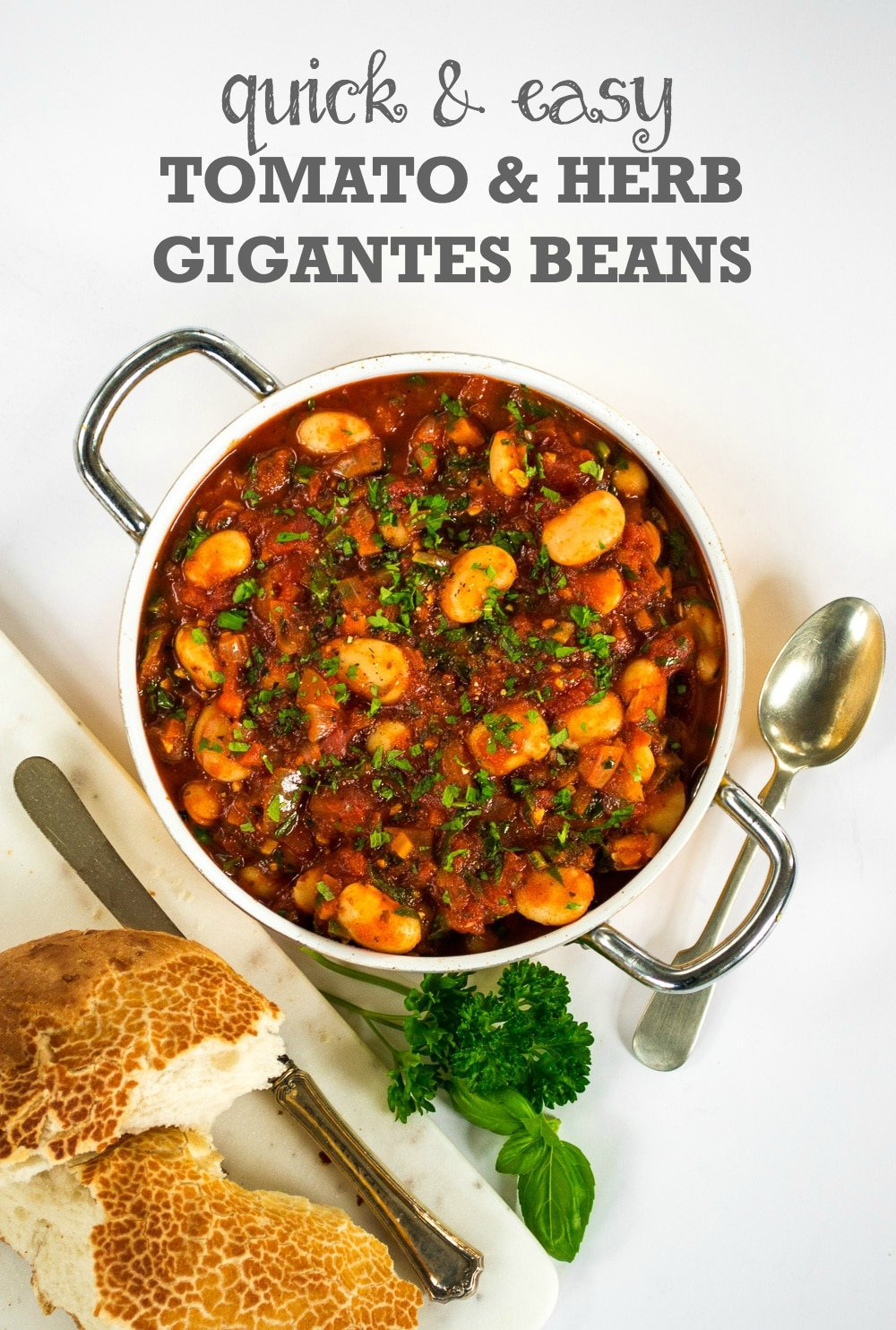 Recipe quick easy tomato and herb gigantes beans the veg space recipe quick easy tomato and herb gigantes beans forumfinder Choice Image