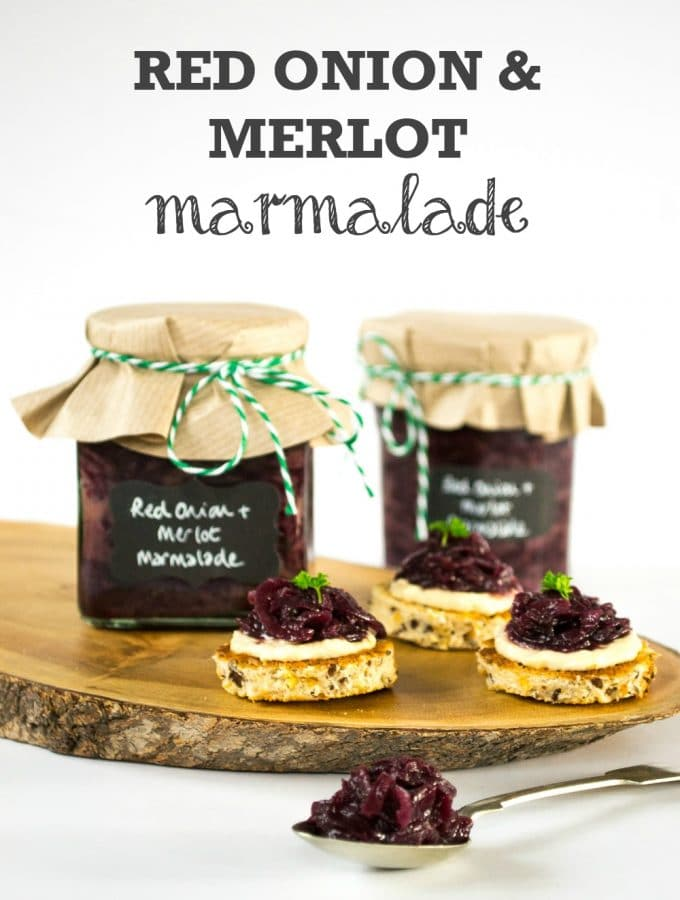 Red Onion & Merlot Marmalade