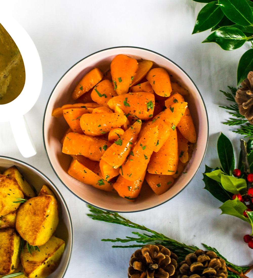 Orange & Maple Carrots