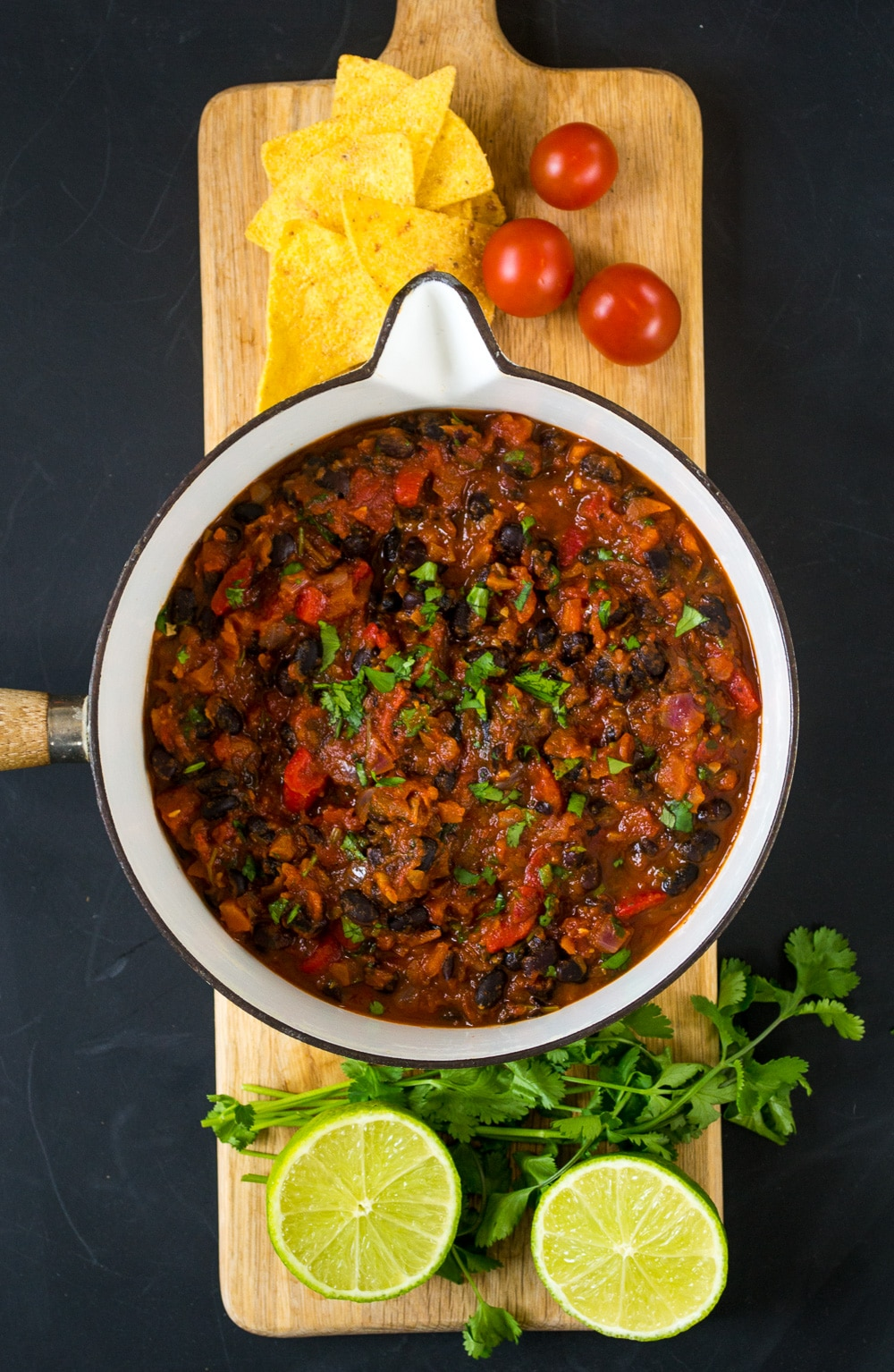 Chipotle Black Bean Chilli | The Veg Space