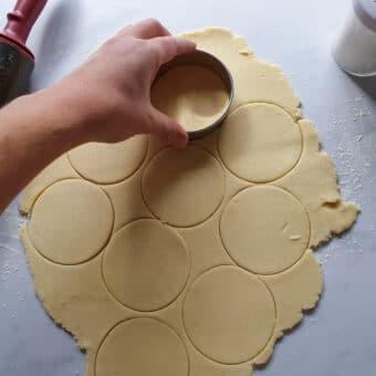 vegan mince pie pastry
