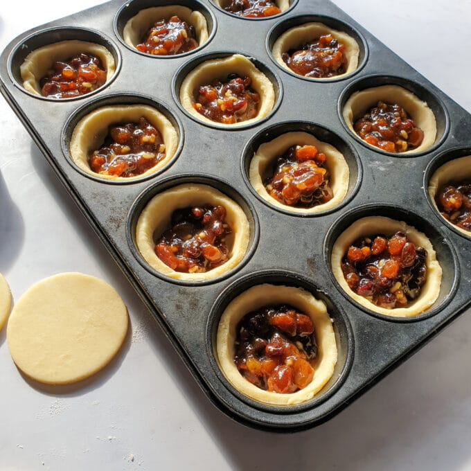 vegan mince pie filling
