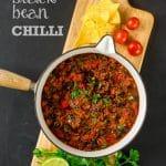 Chipotle & Black Bean Chilli (Vegan)