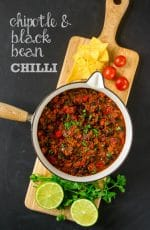 Recipe: Chipotle & Black Bean Chilli (Vegan)
