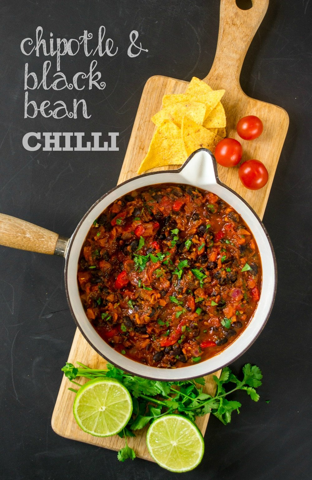 Chipotle & Black Bean Chilli (Vegan)
