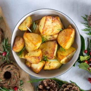 Vegetarian Roast Potatoes