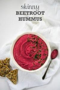 Skinny Beetroot Hummus