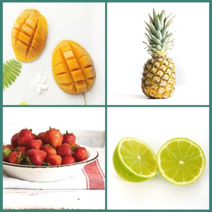 Mango Ice Lollies Ingredients