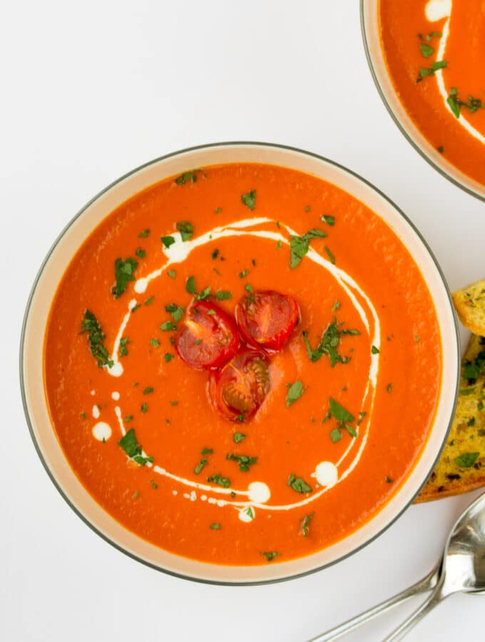 Roasted Tomato & Pepper Soup